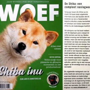 Woef magazine Shiba special